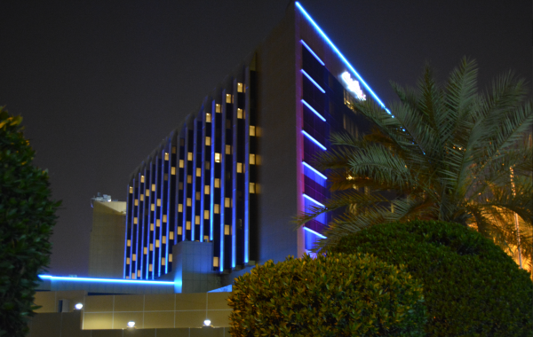 Movenpick Facade Lighting